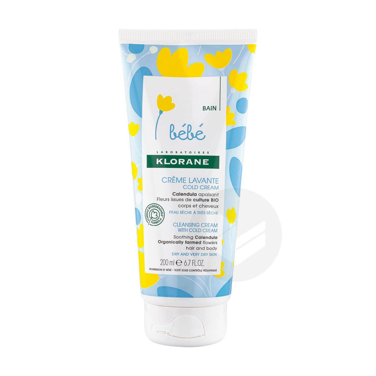 Crème lavanteCold Cream au Calendula Corps et cheveux 200ml