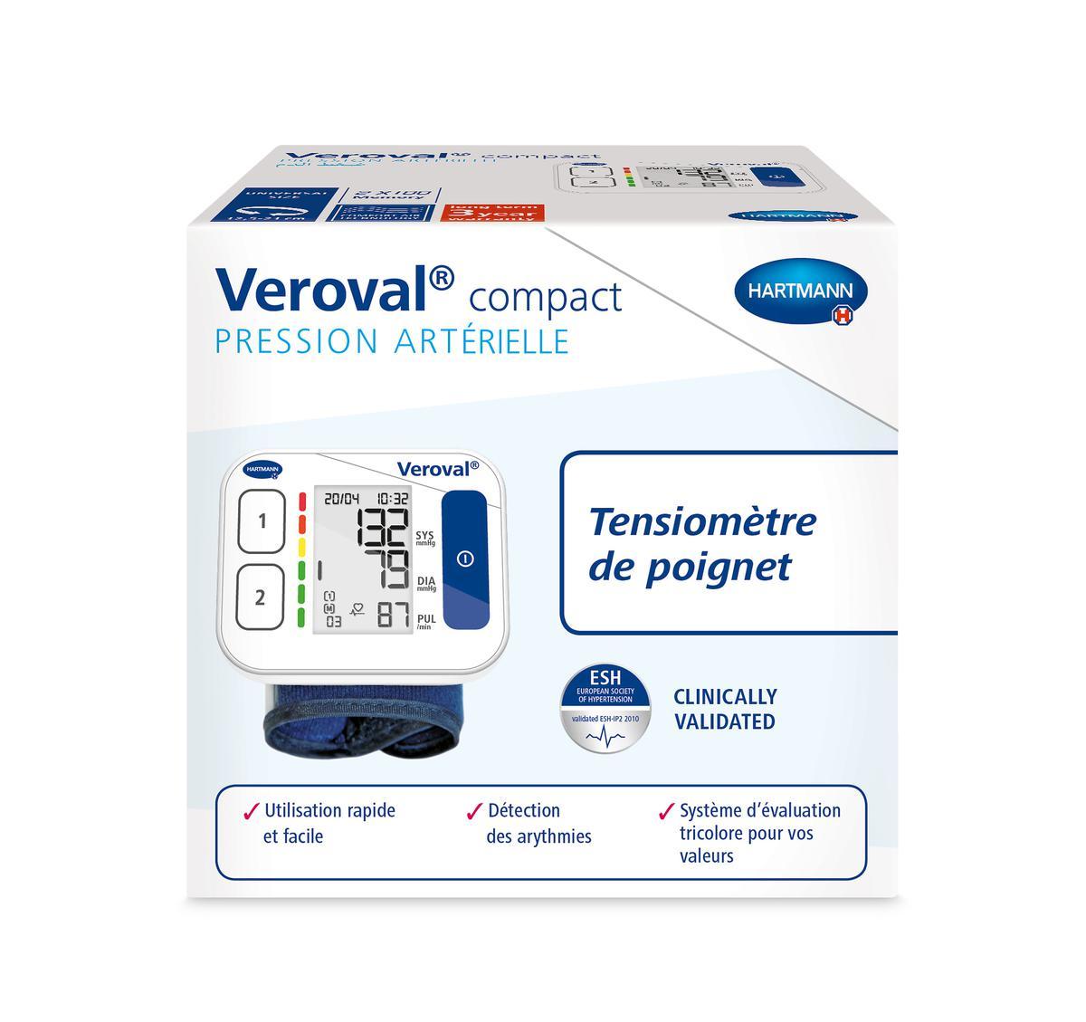 Veroval Compact Tensiometre De Poignet