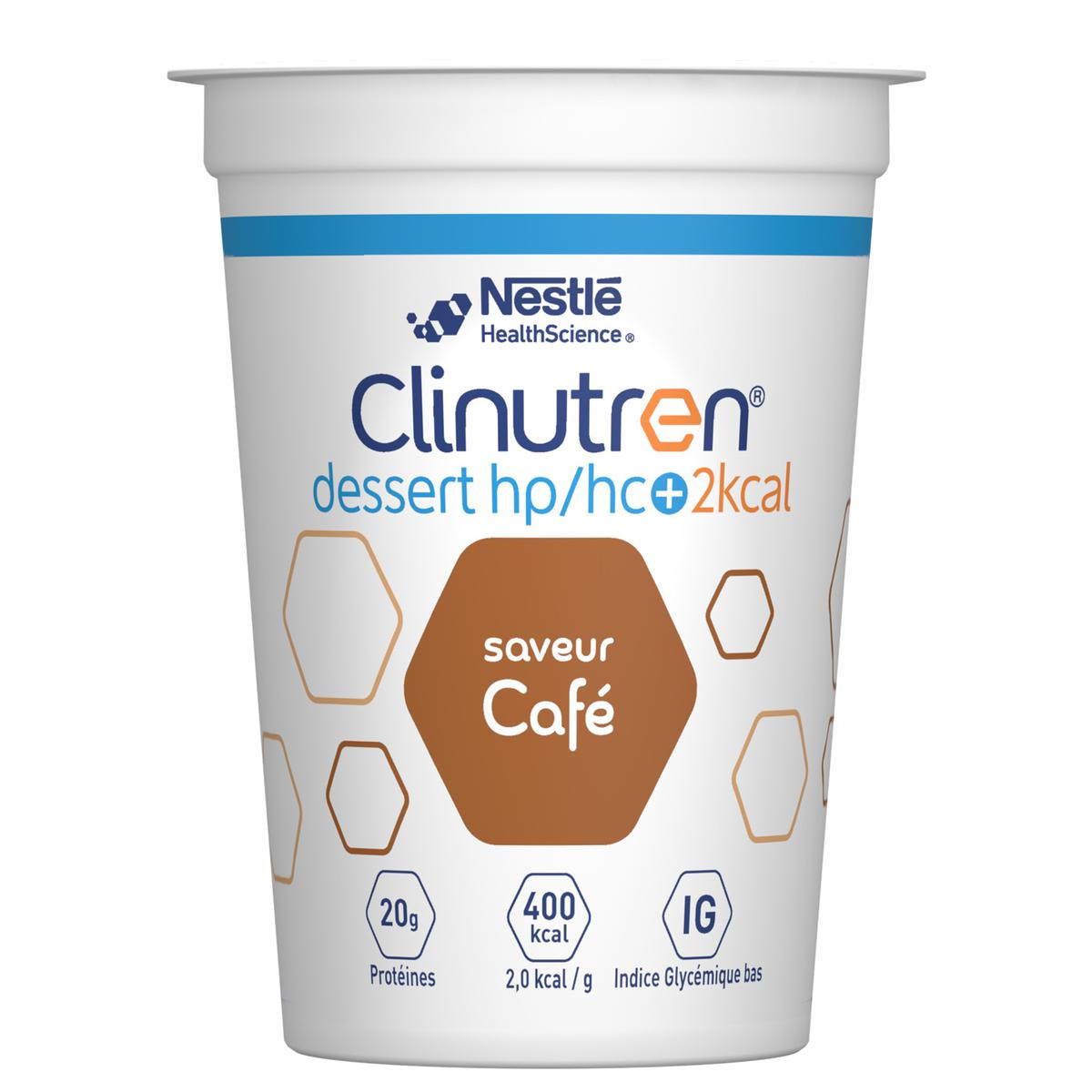 Clinutren Dessert Hp Hc 2 Kcal Cafe 4 X 200 G