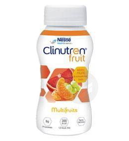 Clinutren Fruit Multifruits 4 X 200 Ml