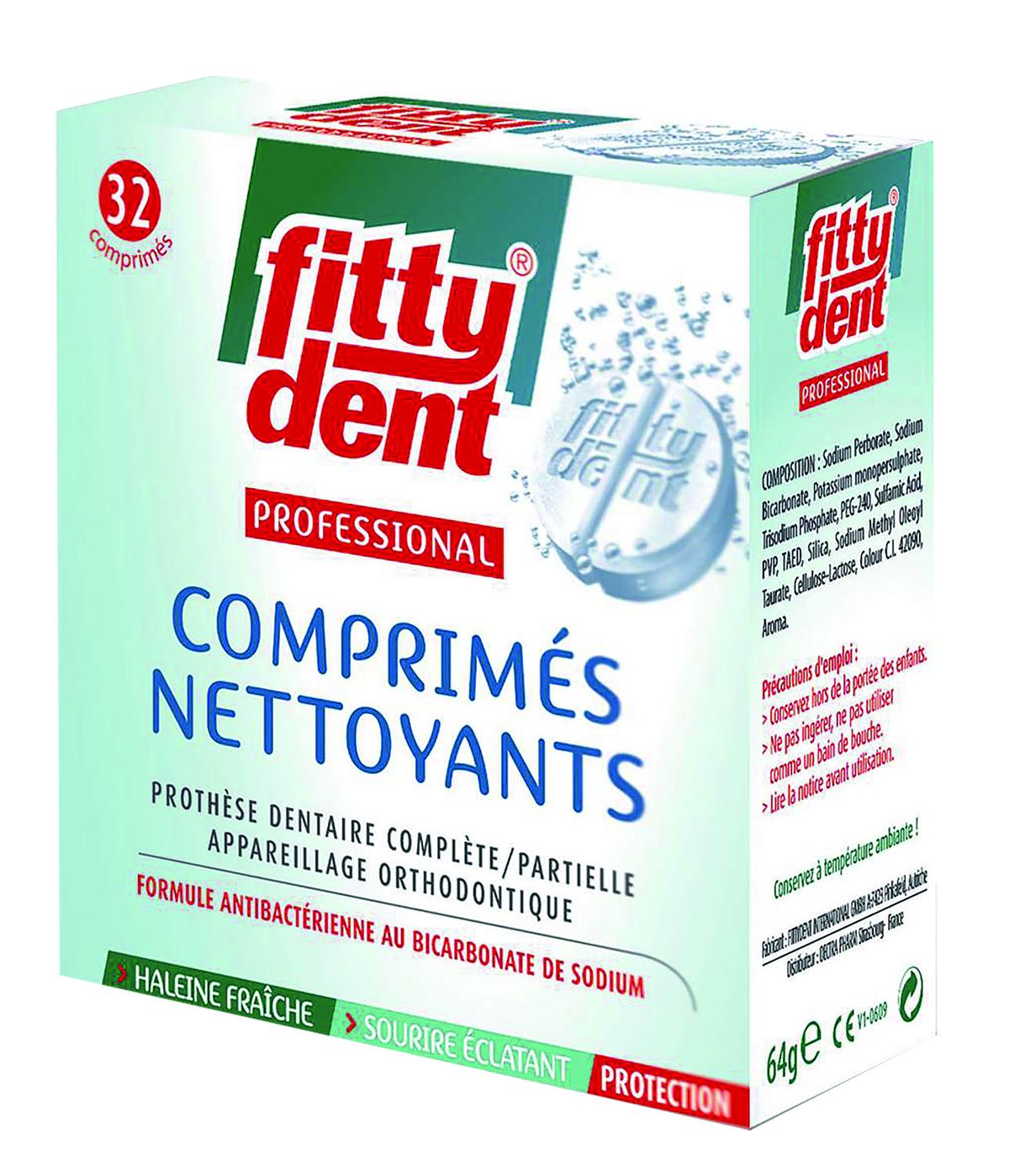 Comprimes Nettoyants X 32