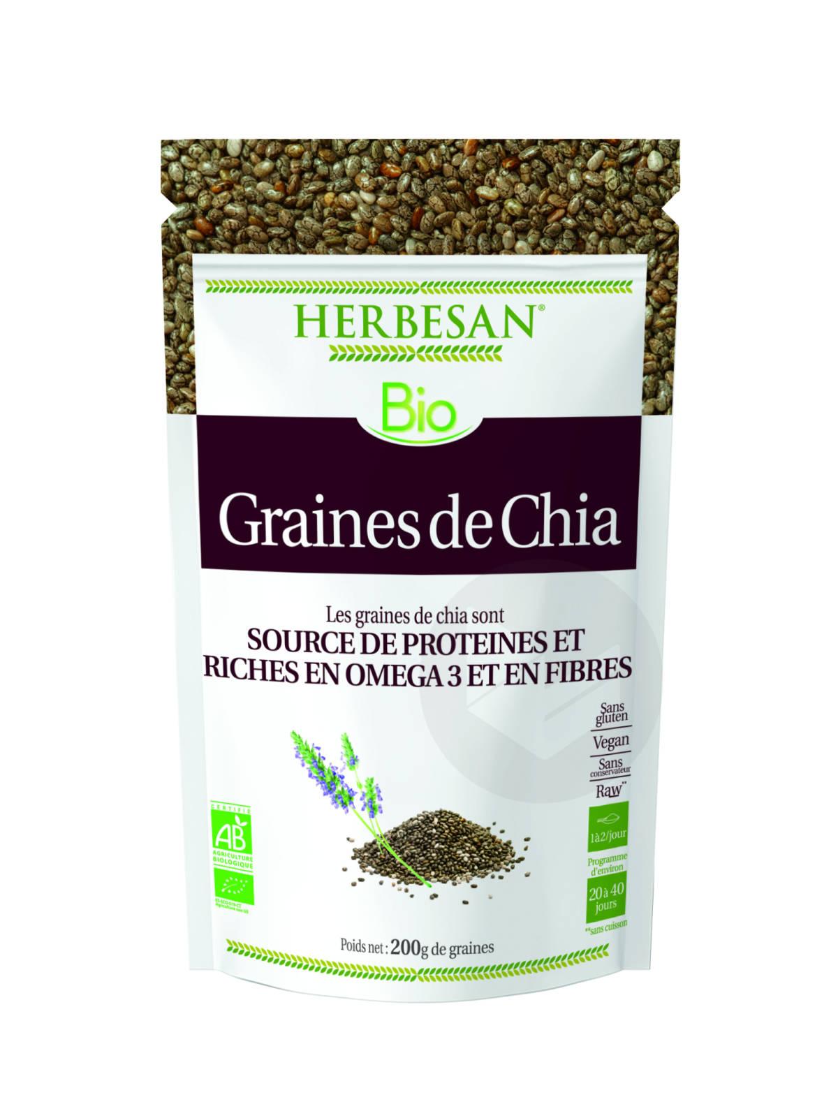 Graines De Chia Bio Graines 200g