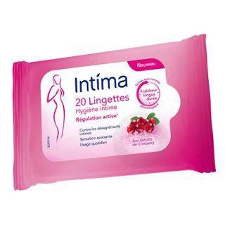 INTIMA GYN'EXPERT Lingette Cranberry Paquet/30