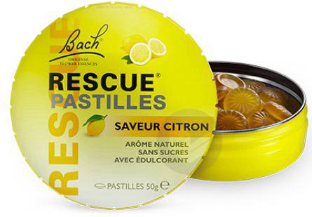 Rescue Pastilles Citron 50 G