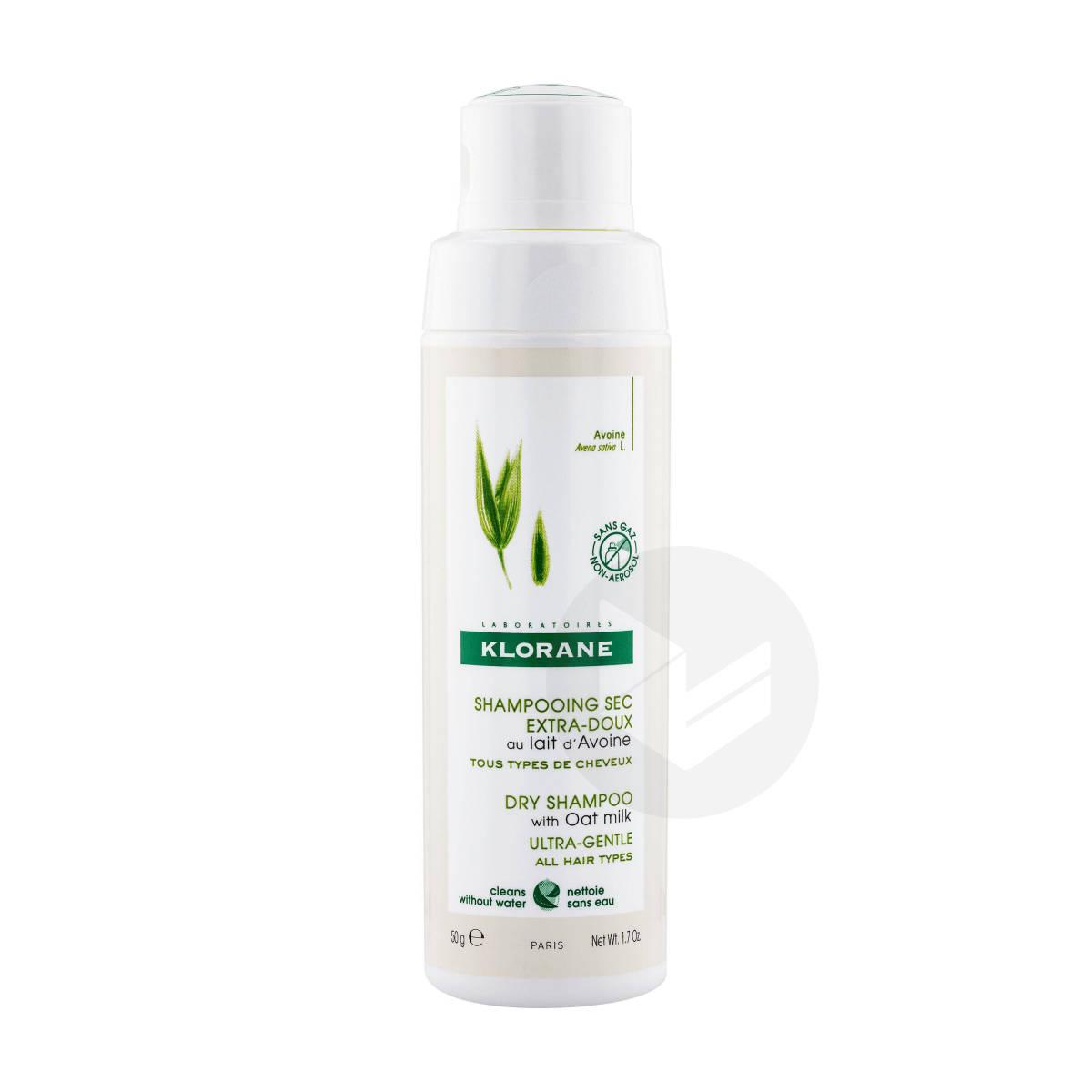 Shampoing secenpoudreextra-doux au lait d'Avoine 50ml