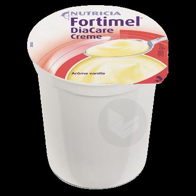 Fortimel Diacare Creme Nutriment Vanille 4 Pots 200 G