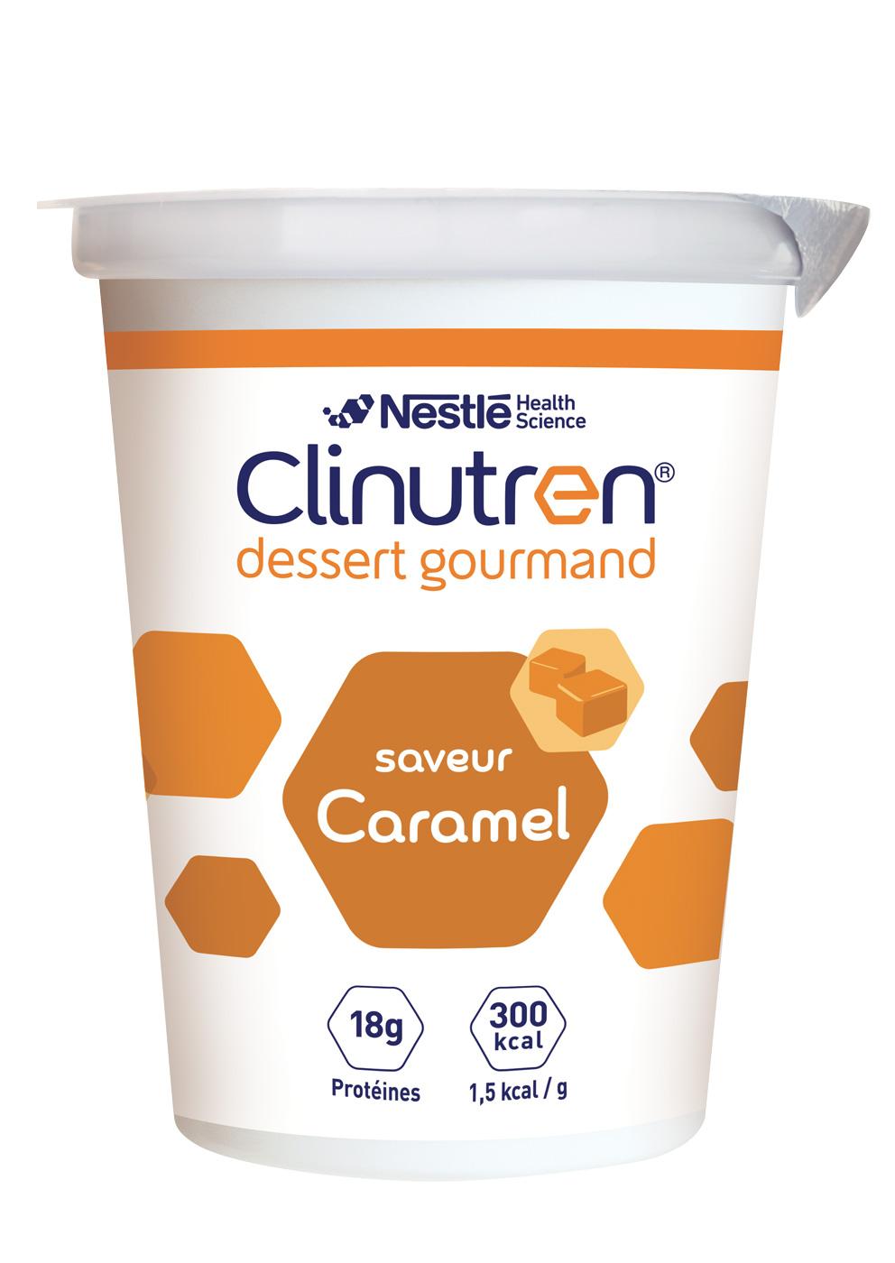 Clinutren Dessert Gourmand Caramel 4 X 200 G