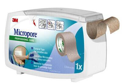 Micropore Sparadrap Microporeux Chair 25 Mmx 5 M Devidoir