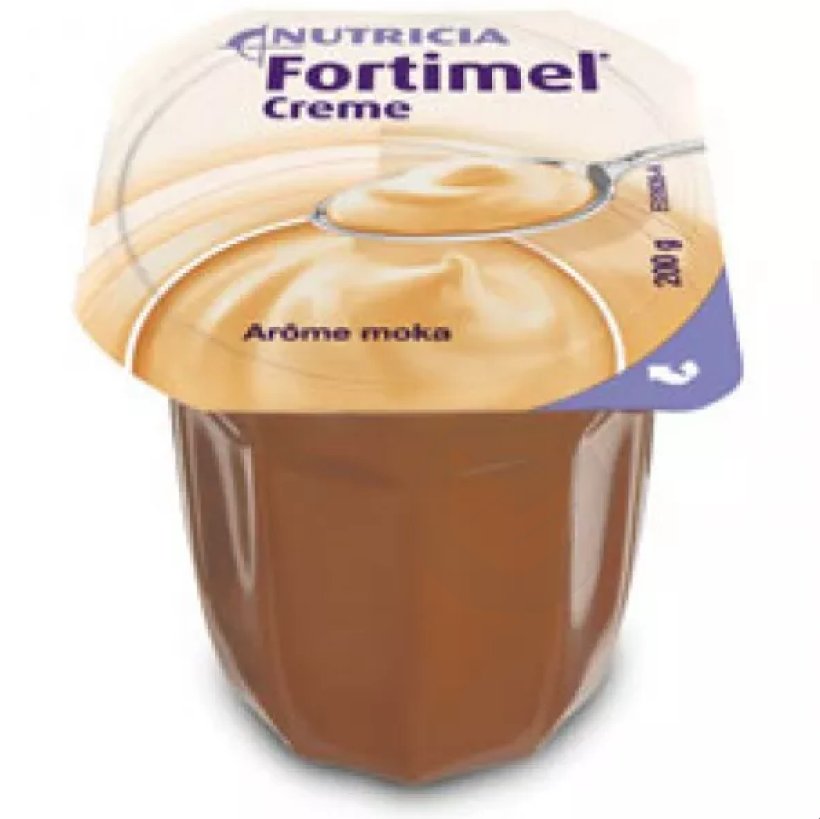 Fortimel Creme Nutriment Moka 4 Coupelles 200 G
