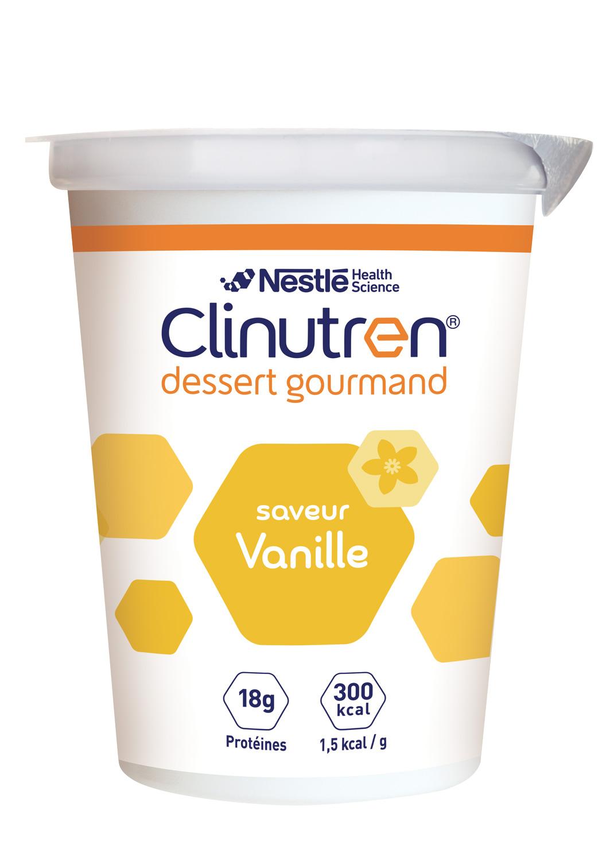 Clinutren Dessert Gourmand Vanille 4 X 200 G