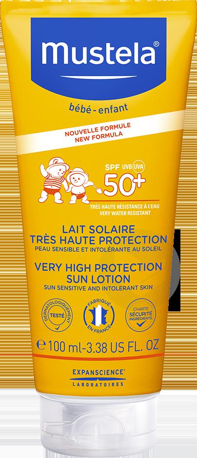 Lait Solaire Tres Haute Protection Spf 50 100 Ml