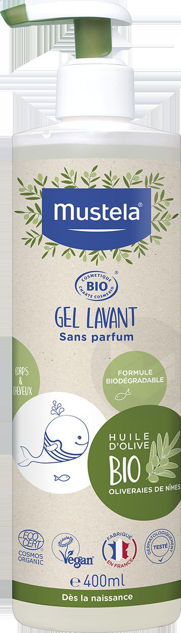 Gel Lavant Corps Cheveux Bio 400 Ml