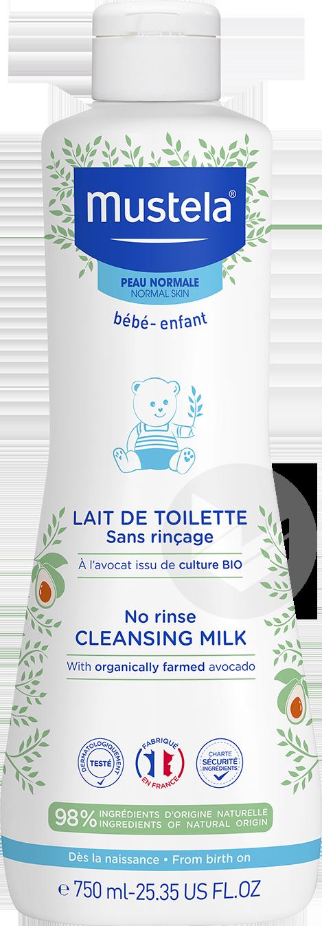 Lait De Toilette Sans Rincage A L Avocat Bio 750 Ml