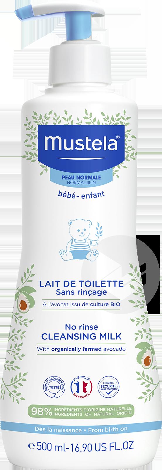 Lait De Toilette Sans Rincage A L Avocat Bio 500 Ml