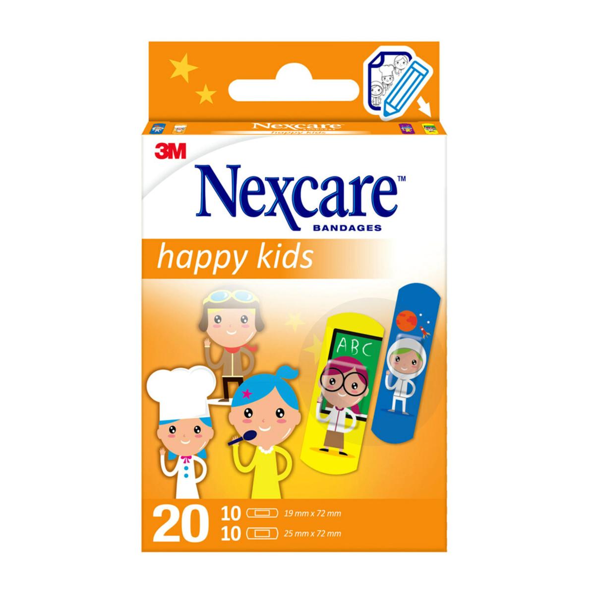 Nexcare Happy Kids Professions x20
