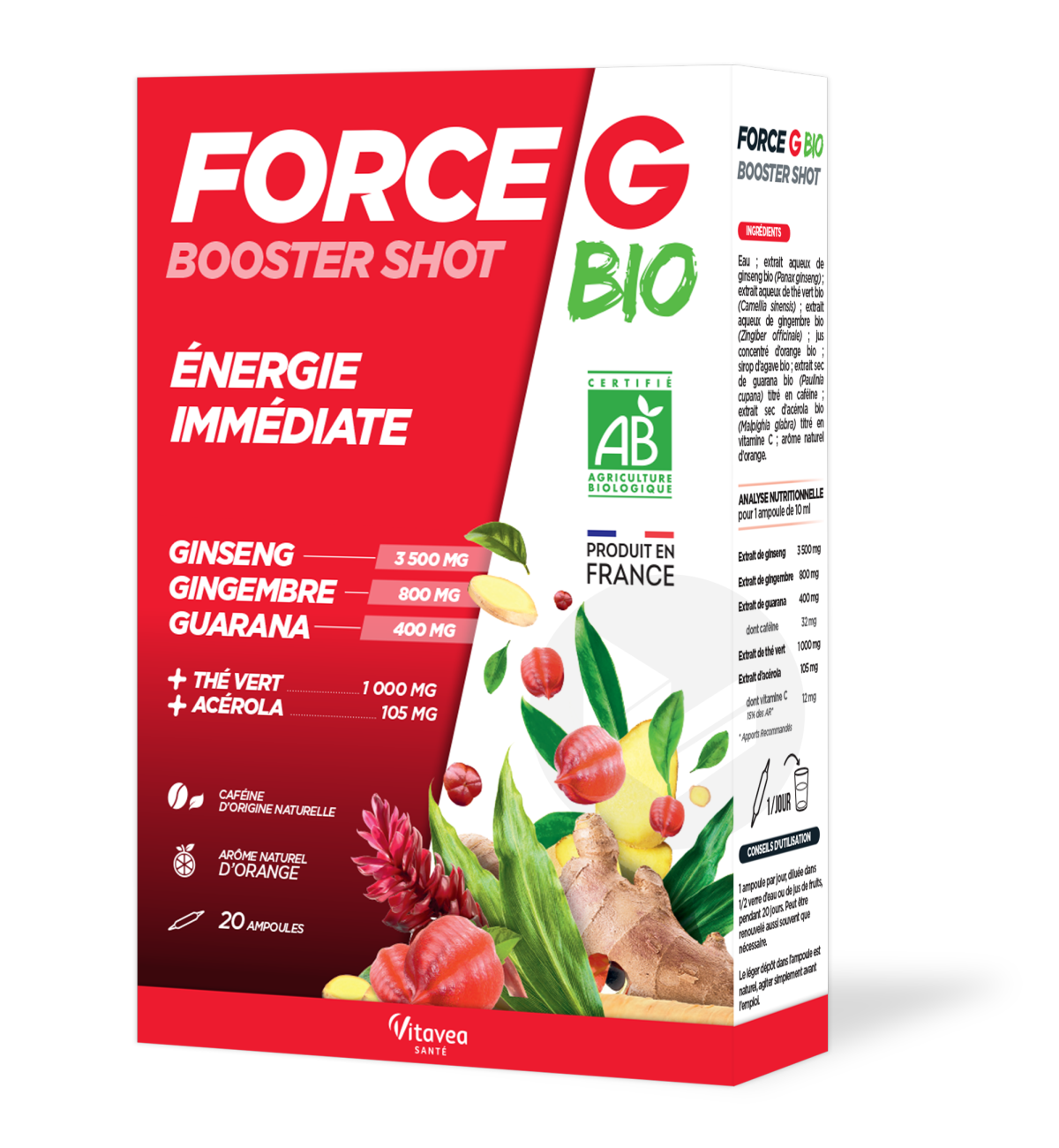 Force G Booster Shot Bio 20 Ampoules