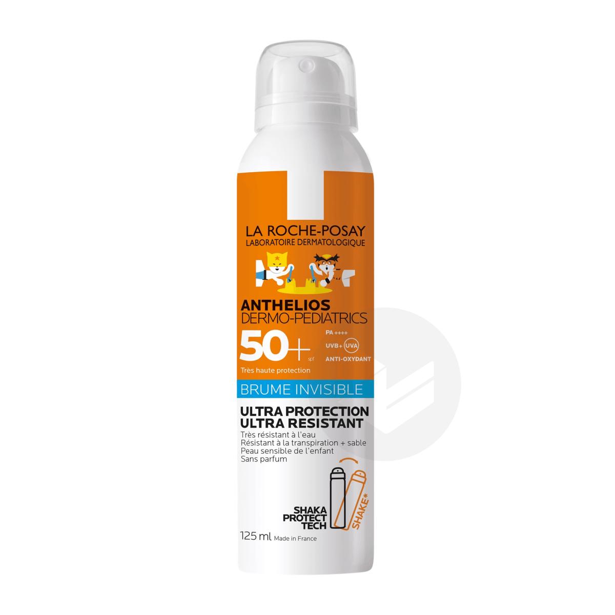 Crème Solaire en Brume Invisible Enfant Dermo-Pediatrics SPF50+ Aérosol Sans Parfum 125ml