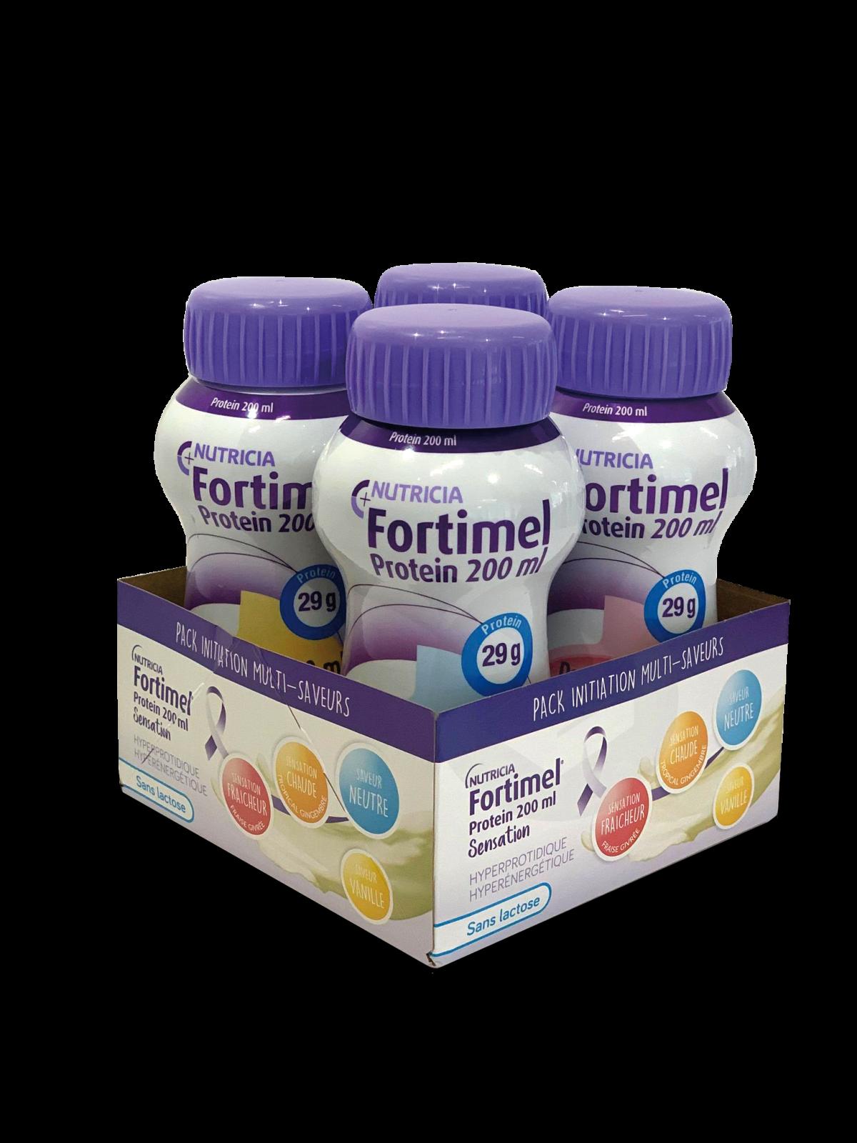Fortimel Protein Sensation Pack Multi-saveurs 200 ml