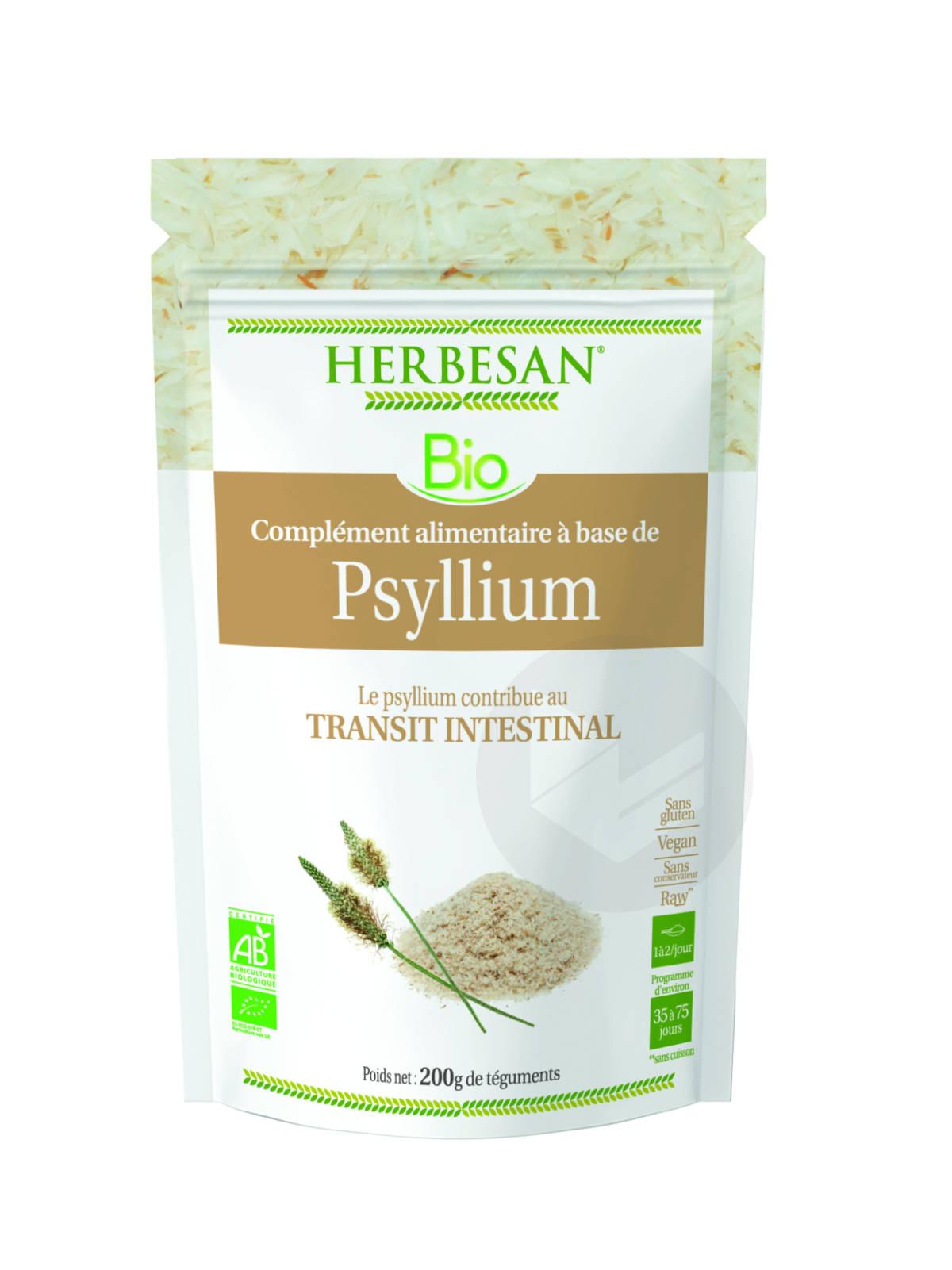 Psyllium Bio Téguments 200g