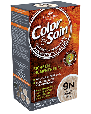Color Et Soin Coloration Permanente Blond Miel 9 N
