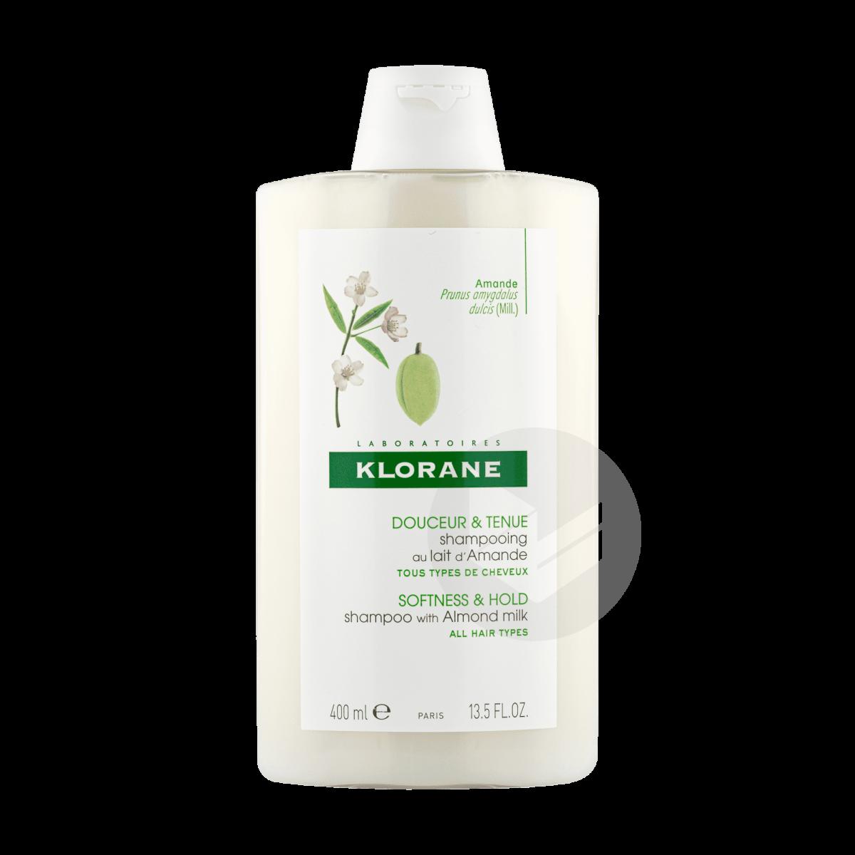 Shampoing douceur et tenue au lait d'Amande 400ml