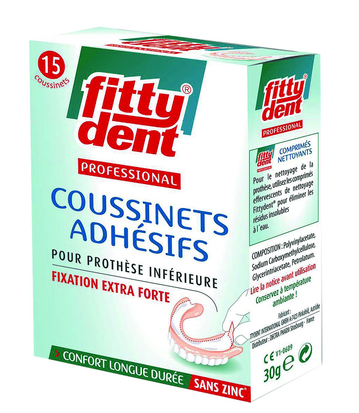 Professionnal Coussinets Adhesifs Sans Zinc X 15