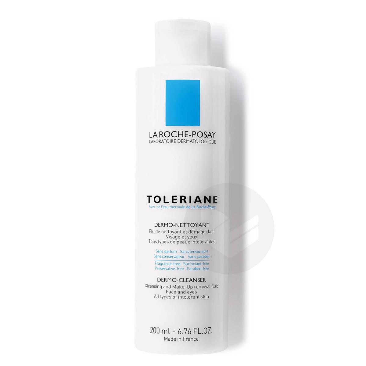 Toleriane Fluide nettoyant et démaquillant peaux sensibles à intolérantes 200ml