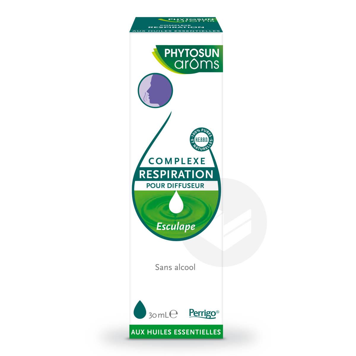 Complexe Respiration Pour Diffuseur Aux Huiles Essentielles 30 Ml