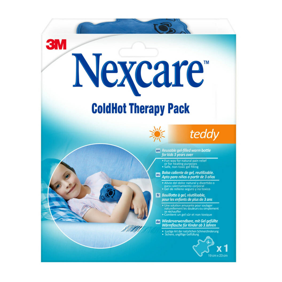 Coussins Thermiques Nexcare Cold Hot Teddy