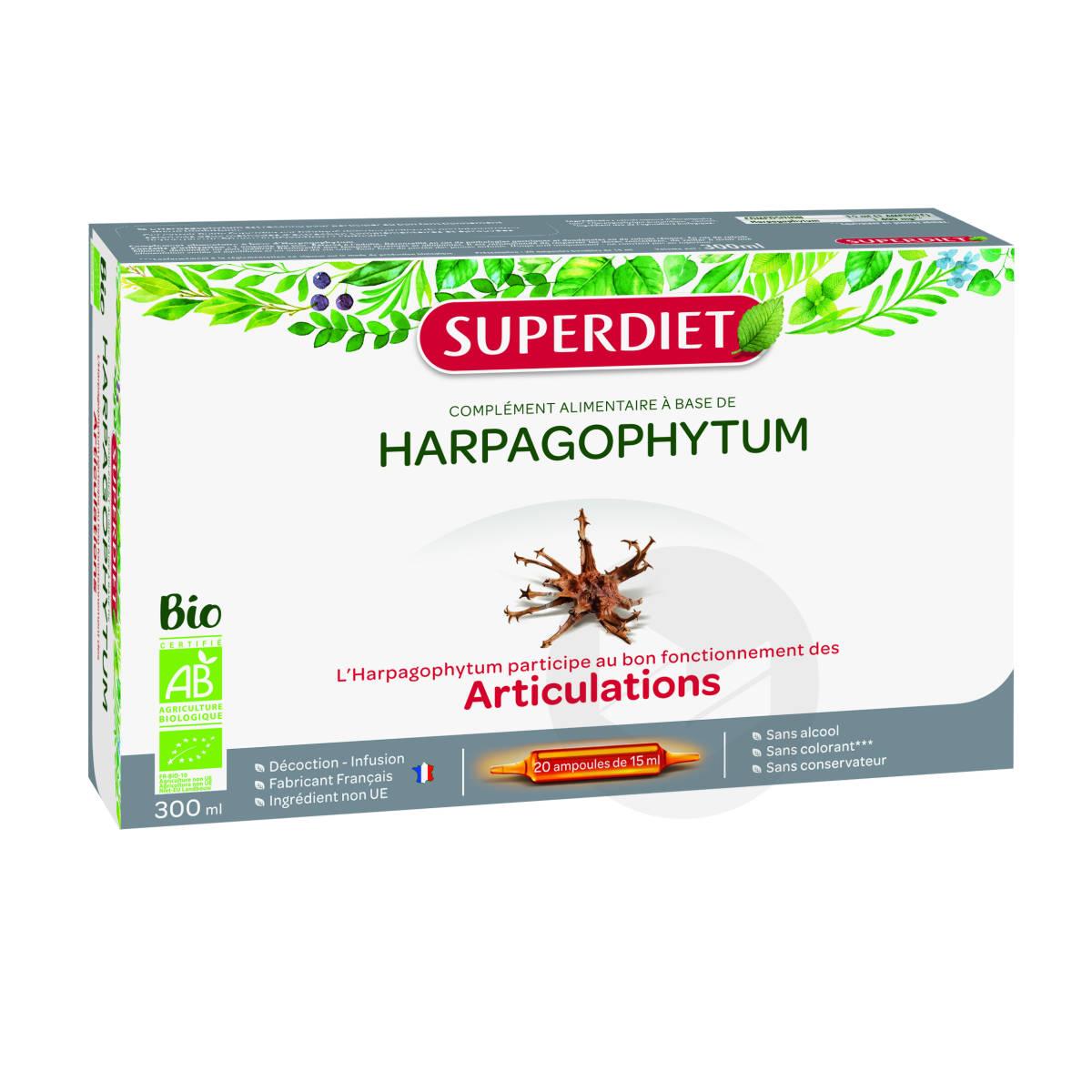 Harpagophytum Bio 20 Ampoules De 15 Ml