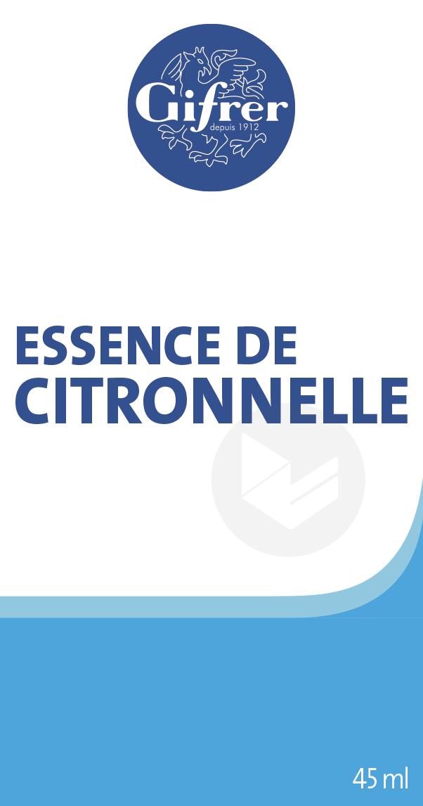 Essence De Citronnelle 45 Ml