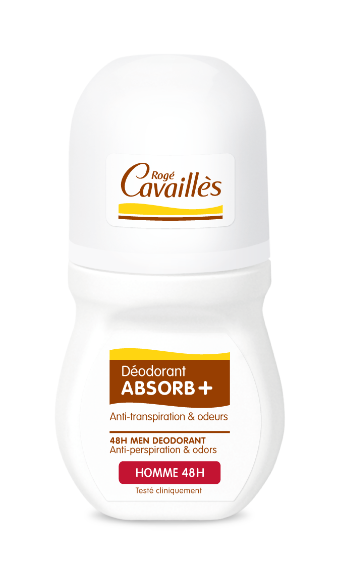Déodorant Absorb+ homme roll on 50ml