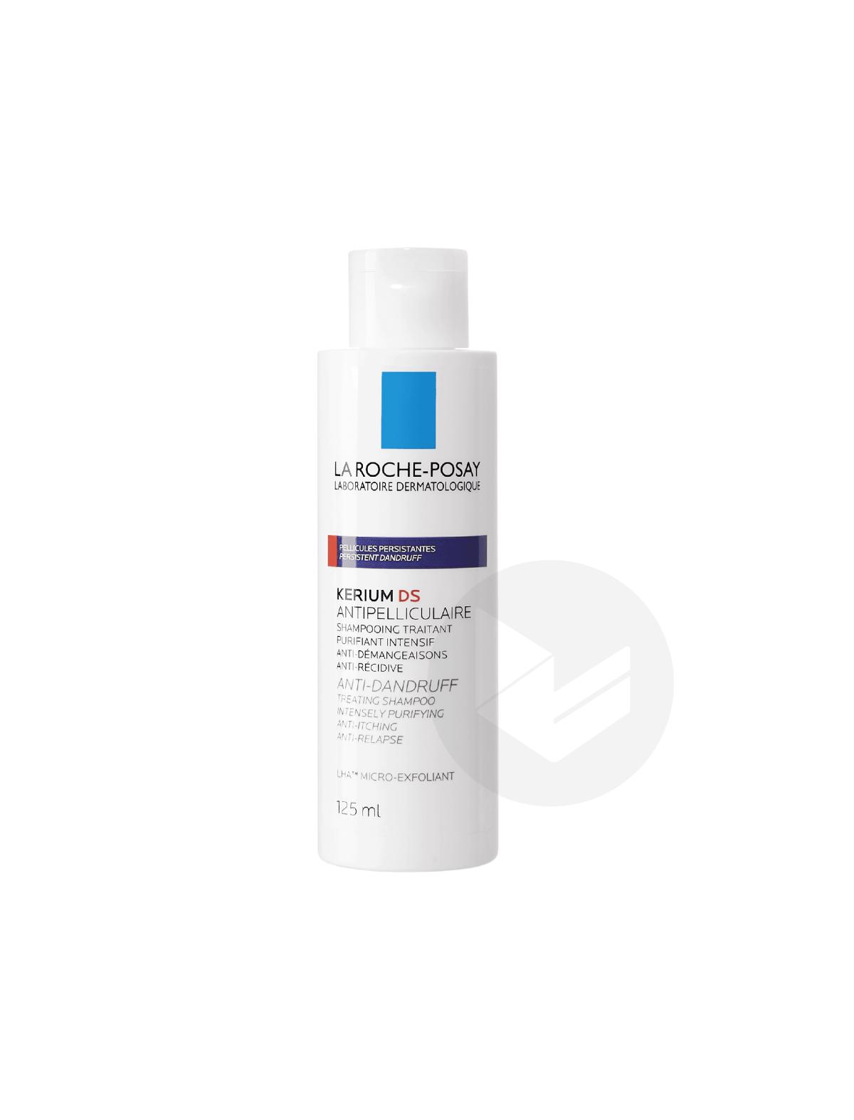 Kerium DS Shampoing Traitant Pellicules Persistantes 125ml