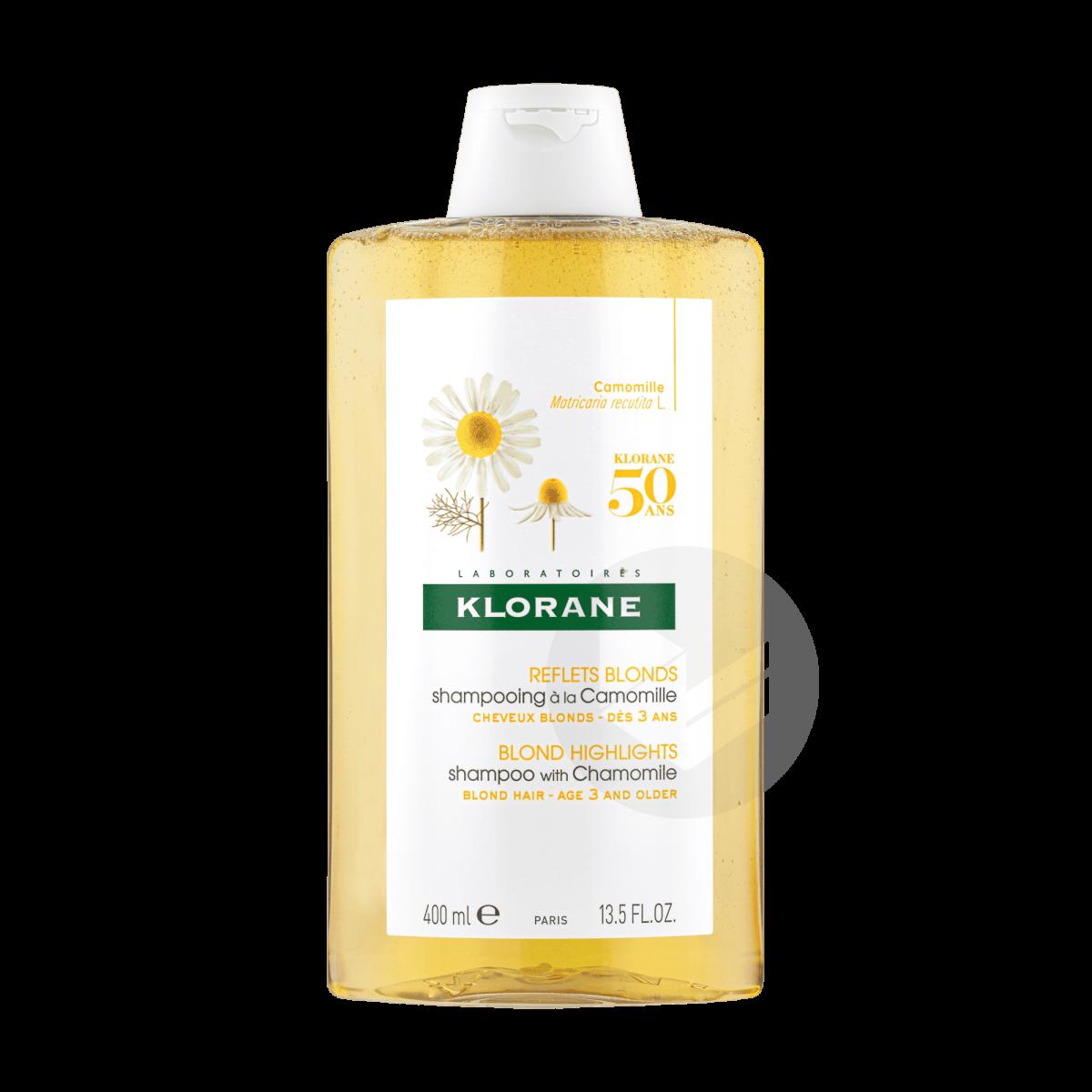 Shampoing éclaircissant Reflets Blonds à la Camomille 400ml