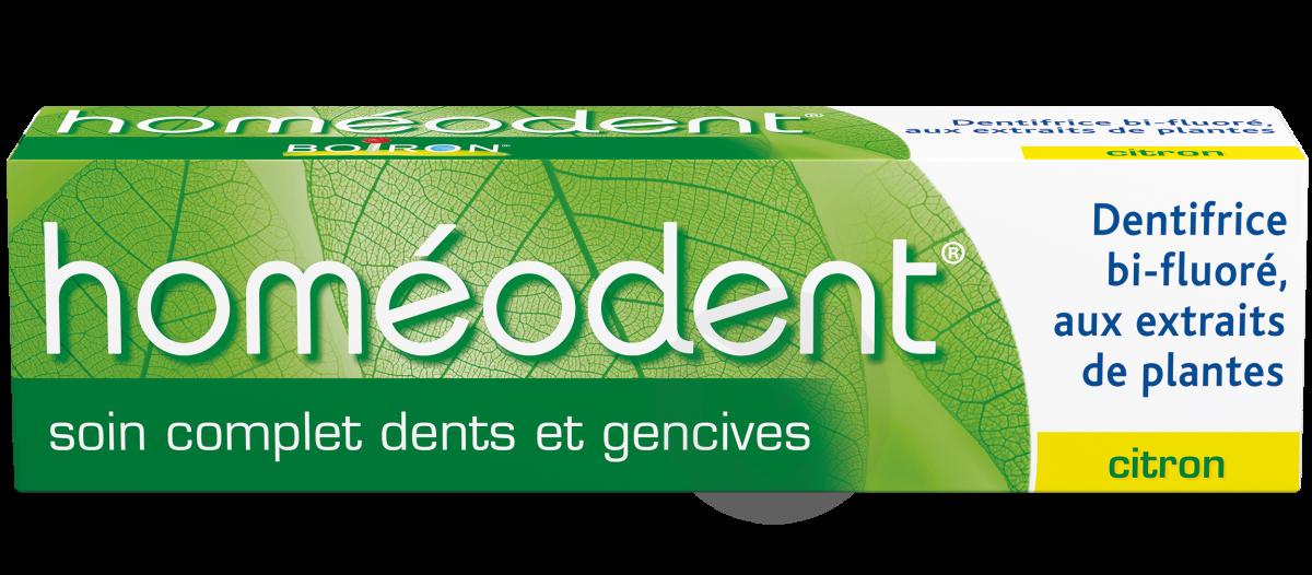 Homéodent soin complet Dents et Gencives Citron 75ml