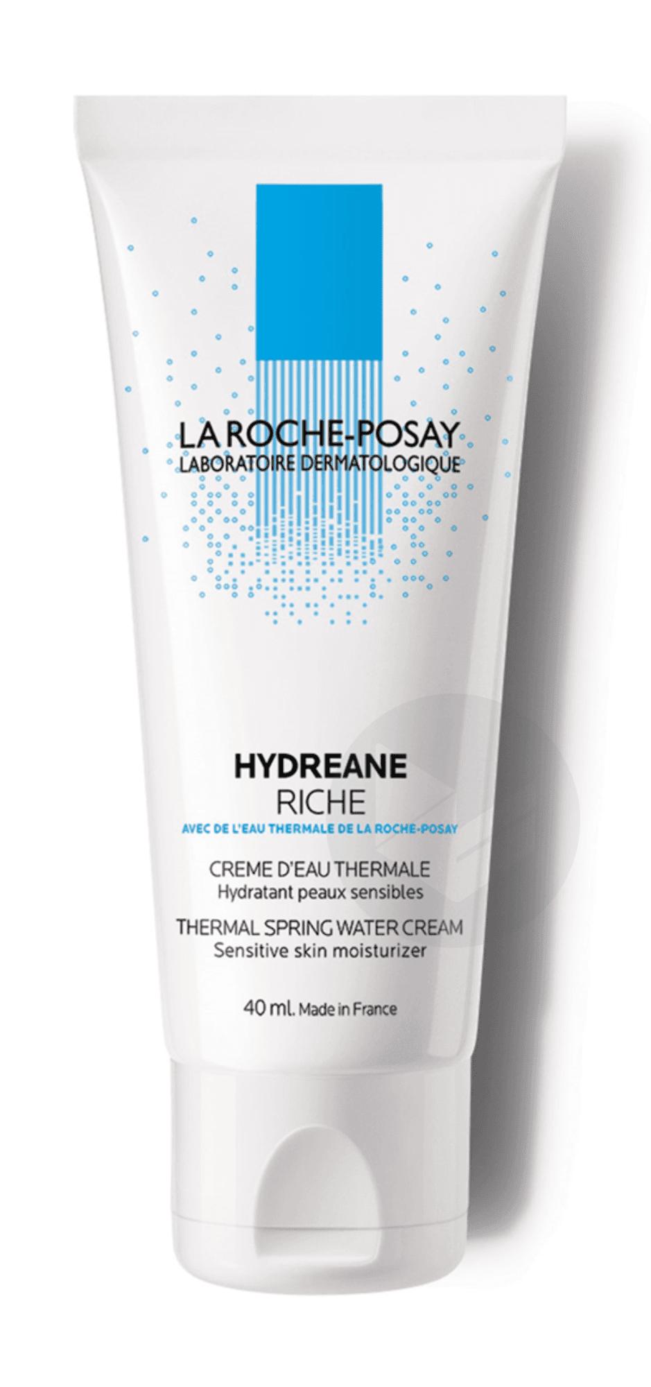 Hydreane Crème riche d'Eau Thermale hydratante 40ml
