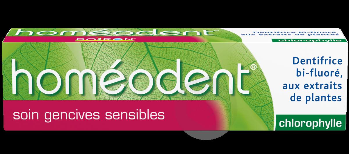 Homéodent Gencives sensibles chlorophylle 75ml