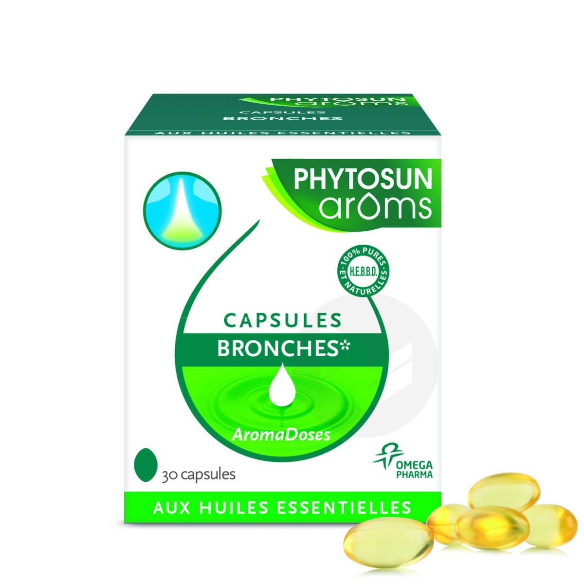 Capsules Bronches Aux Huiles Essentielles X 30
