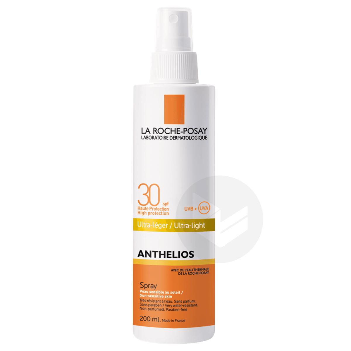 Anthelios Crème Solaire en Spray Corps SPF30 Avec Parfum 200ml