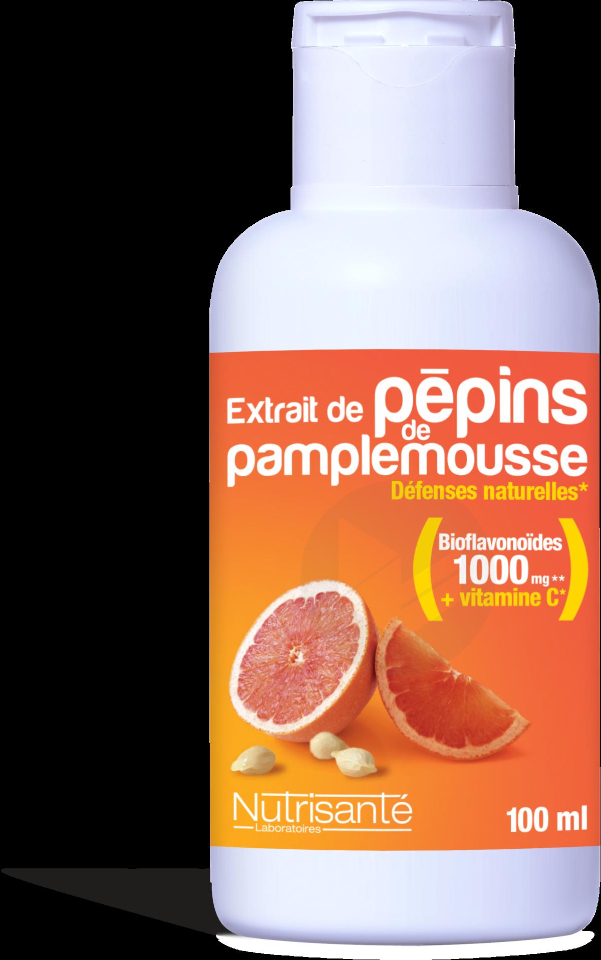 Extrait De Pepins De Pamplemousse 100 Ml