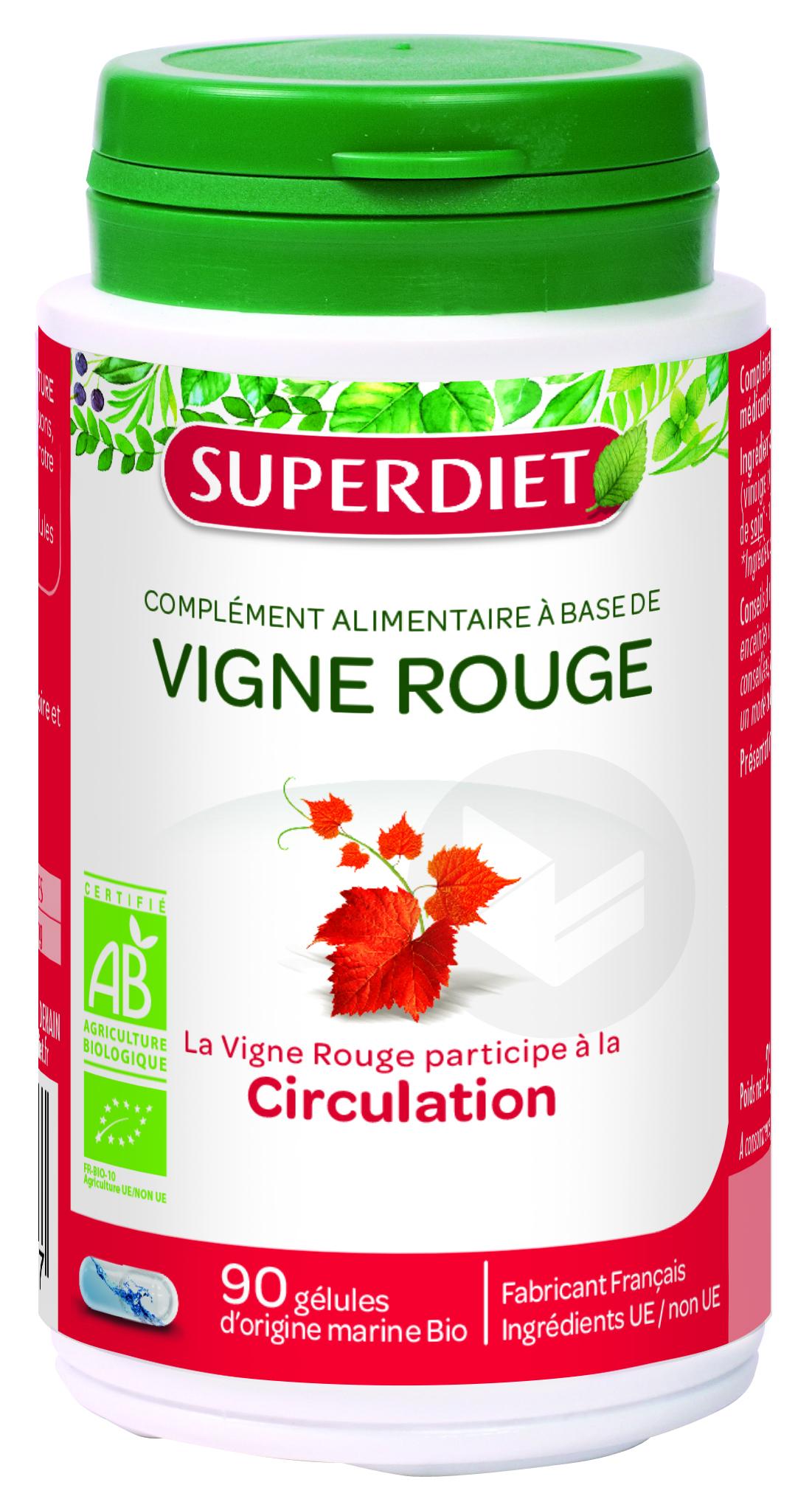 Vigne Rouge Bio 90 Gelules