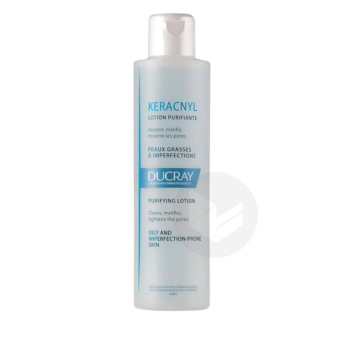 Lotion purifiante anti-imperfections peaux grasses à tendance acnéique 200ml