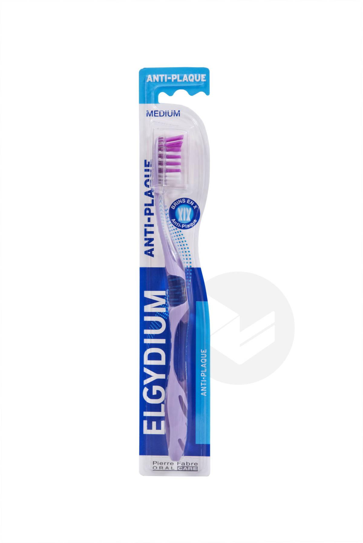 Brosse à dents Anti Plaque Médium