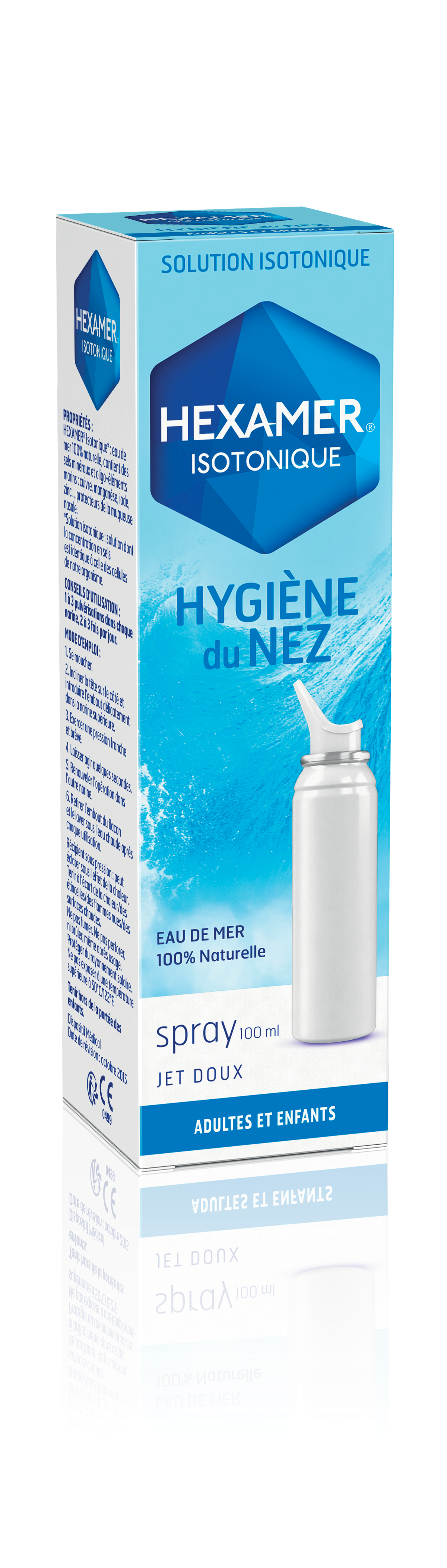 Hexamer Isotonique Hygiene Du Nez Spray 100 Ml