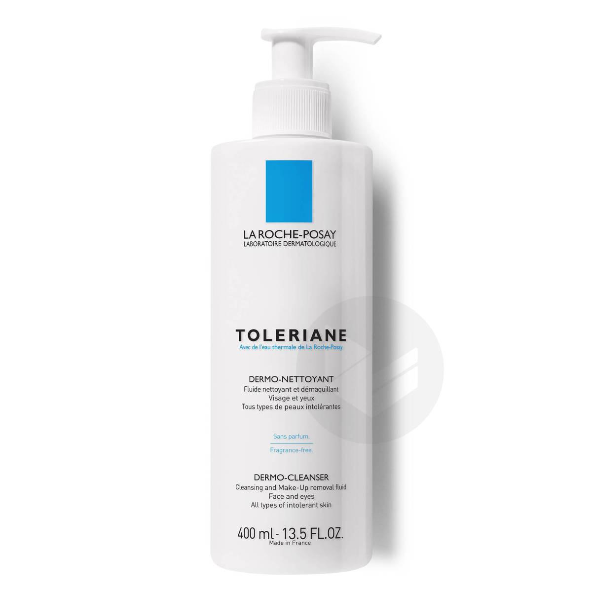 Toleriane Fluide nettoyant et démaquillant peaux sensibles à intolérantes 400ml