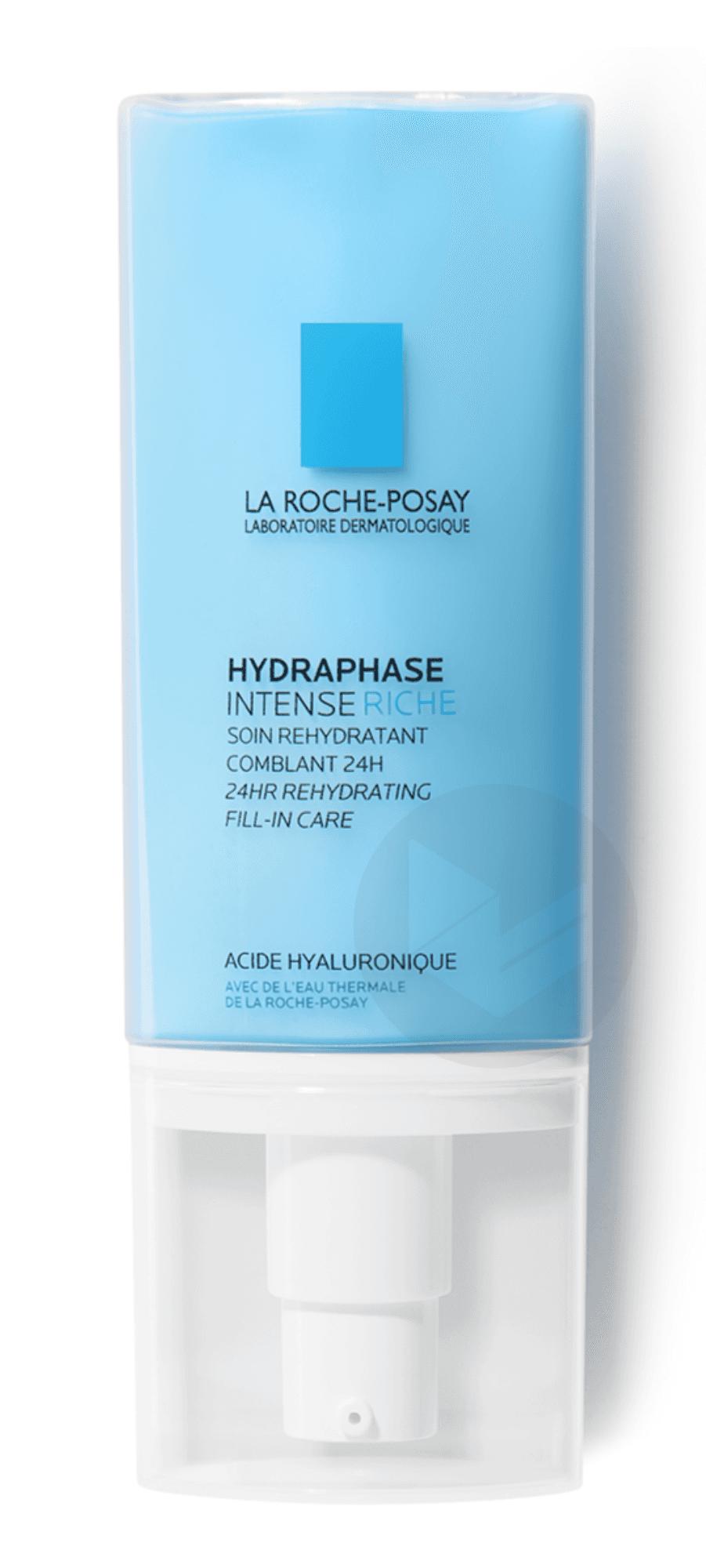 Hydraphase Intense Crème riche réhydratante comblante 24H 50 ml
