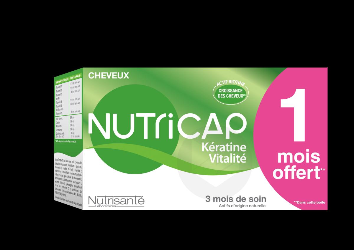 Nutricap Keratine Vitalité 90 capsules