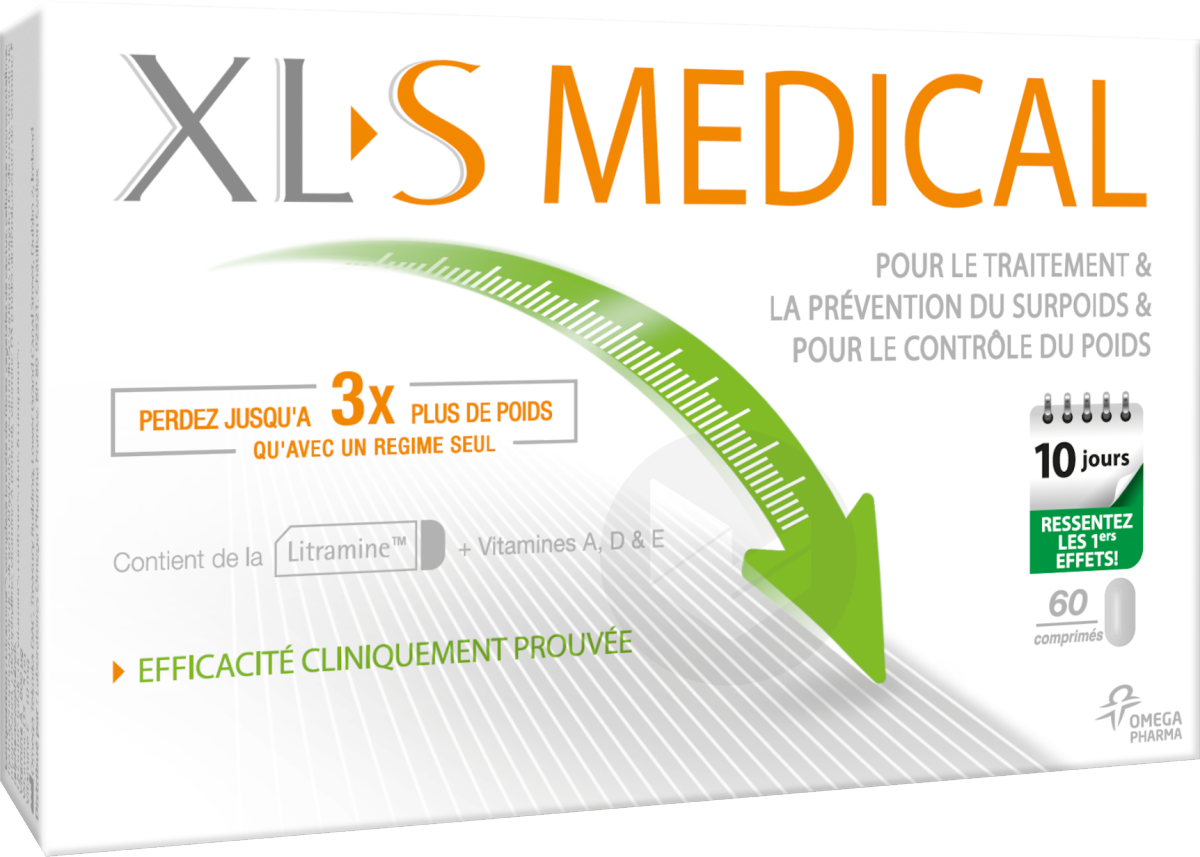 Xls Medical Comprime Capteur De Graisses B 60