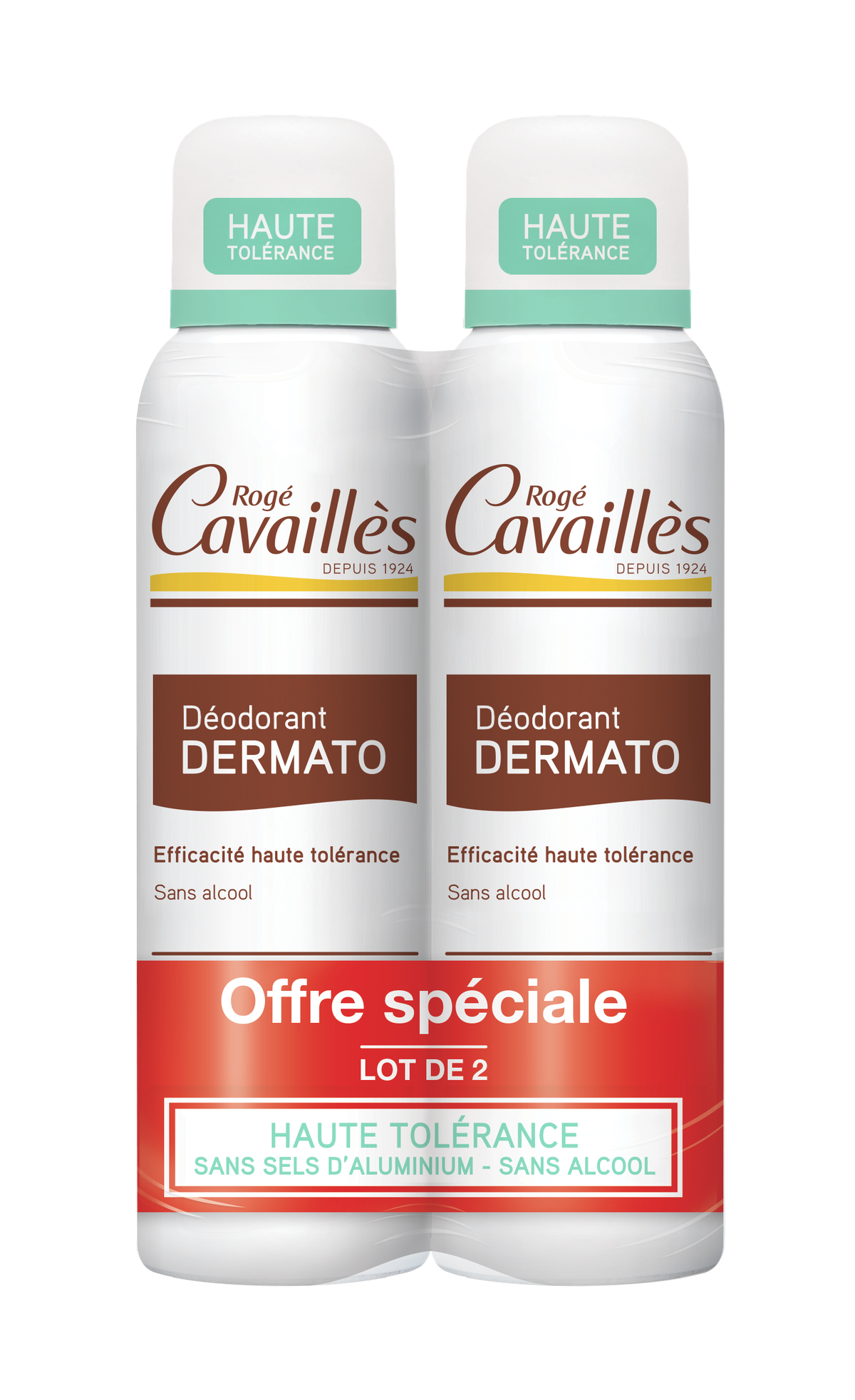 Deodorant Dermato Spray 2 X 150 Ml