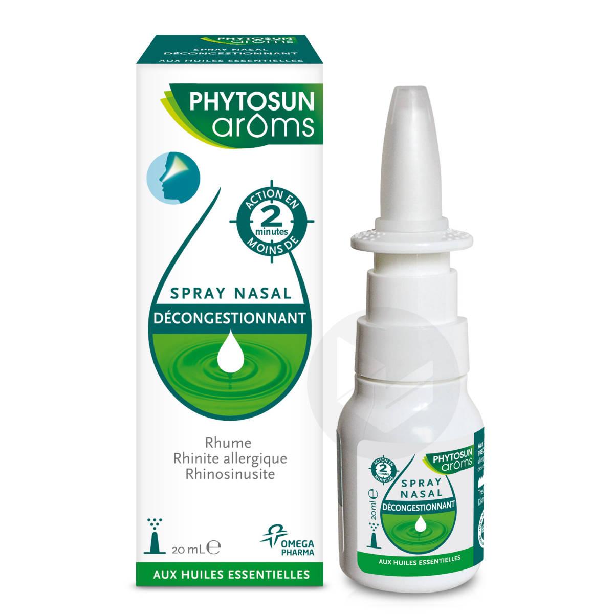 Spray Nasal Decongespray Nasal Decongestionnant Aux Huiles Essentielles 20 Ml